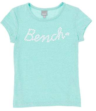 Bench Girl's Logo Tee T-Shirt, (Bright White Wh11185), (Size: 13-14)