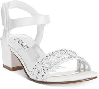 Badgley Mischka Ascot Gems Embellished Sandals, Little Girls (11-3) & Big Girls (3.5-7)