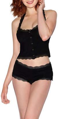 Dreamgirl Womens Shorts Pajama Set 2-pc. Sleeveless