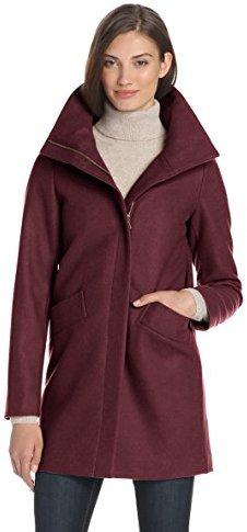 Tommy Hilfiger Women's Cozy Wool-Blend Cocoon Coat
