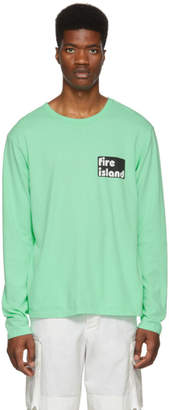 Bianca Chandon Green Tom Bianchi Edition Fire Island T-Shirt