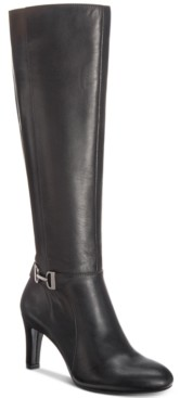 Alfani Women's Step 'N Flex Wide-Calf Perrii Boots, Created for Macy's Women's Shoes