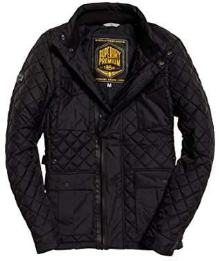 Superdry Men's Rylandquilt4pkt Trench Coat