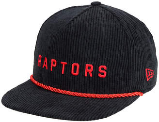 New Era Toronto Raptors Hardwood Classic Nights Cords 9FIFTY Snapback Cap