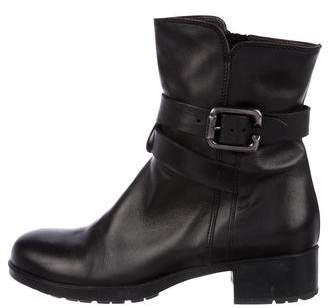 AGL Leather Ankle Boots