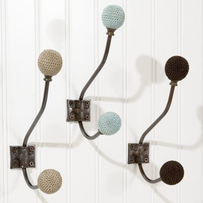 Crocheted Wall Hooks
