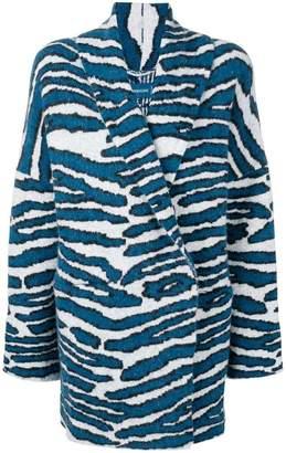 Zadig & Voltaire Zadig&Voltaire zebra print coat