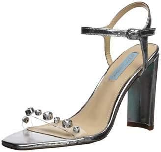 69e9d2491807 Betsey Johnson Silver Heeled Women s Sandals - ShopStyle