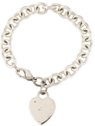 Tiffany & Co. Heart Tag Bracelet $75 thestylecure.com