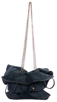Nina Ricci Lily Suede Bag