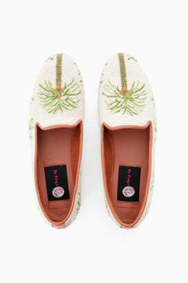 307926ae72e9 Paige By Palm Trees Needlepoint Loafer