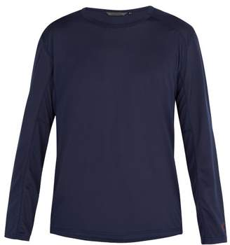 Teton Bros - Long Sleeved Stretch Mesh T Shirt - Mens - Navy