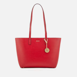 DKNY Women's Bryant Medium Sutton Textured Leather Tote Bag