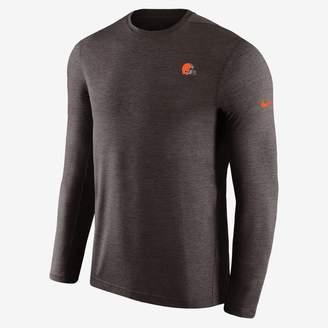 Nike Dri-FIT Coach (NFL Browns) Men's Short Sleeve Football Top