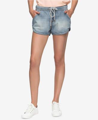 Roxy Juniors' Music Never Stop Denim Shorts