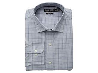 Lauren Ralph Lauren Slim Fit Non Iron Stretch Poplin Dress Shirt