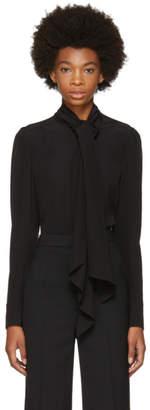 Chloé Black Tie Blouse