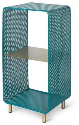 Oliver Bonas Onu Teal Standing Storage Shelf