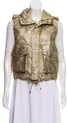 DSQUARED2 Metallic Textured Vest w/ Tags