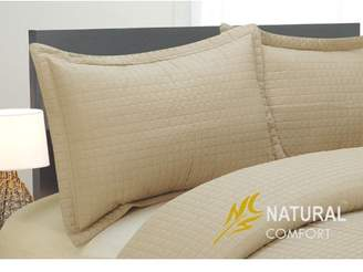 Natural Comfort Microfiber Blanket Coverlet