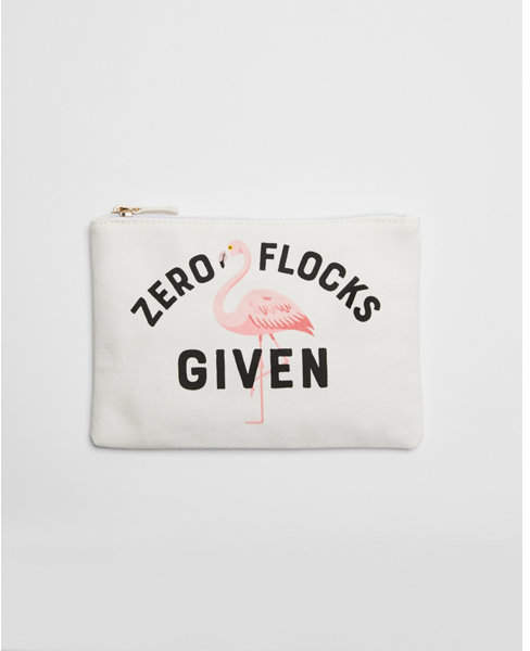zero flocks given pouch