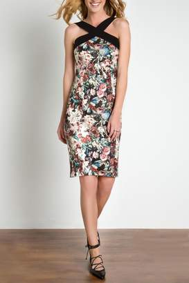 Urban Touch Strapped Neck Dress