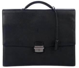 Cartier Leather Flap Briefcase