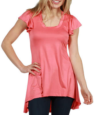 24/7 Comfort Apparel Jamie Tunic Top