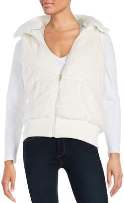 Kensie Performance Women's Sherpa Hooded Vest