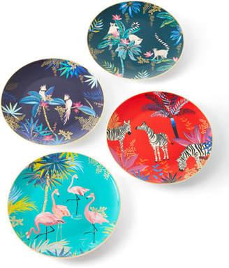 Portmeirion Assorted Side Plates, Set of 4