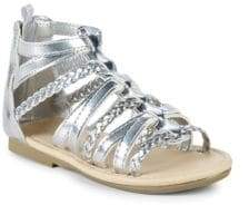 Carter's Little Girl's & Girl's Smile Metallic Sandals