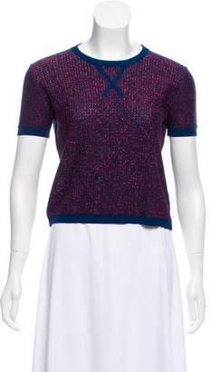 Rochas Wool Knit Top