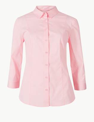 Marks and Spencer 3/4 Sleeve Shirt