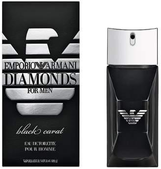 Emporio Armani Diamonds Black Carat Men's Cologne - Eau de Toilette