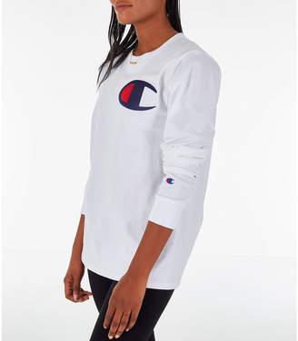 81c8450c Champion Women's Heritage Long-Sleeve T-Shirt
