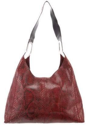 Tod's Snakeskin Hobo Bag