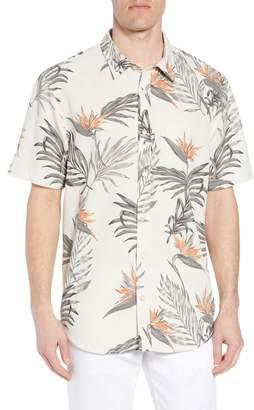 O'Neill Jack Paradise Regular Fit Short Sleeve Sport Shirt