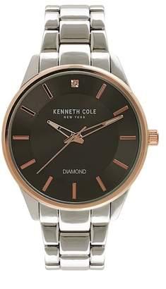 Kenneth Cole New York Men's Genuine Crystal Watch, 42mm