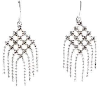 Tiffany & Co. 18K Mesh Fringe Earrings