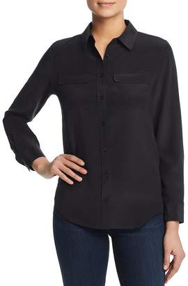 Pi Relative Silk Flap-Pocket Shirt