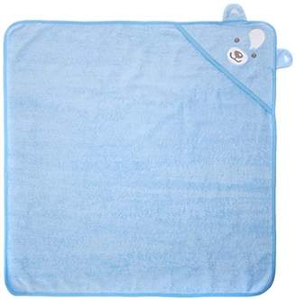 Twins Baby Boys Badetuch BÄR Bathrobe, Blue (14-4121 - Blue Bell)
