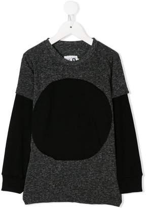 Nununu contrasting sleeves sweatshirt
