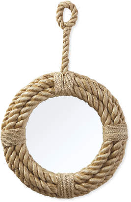 Serena & Lily Nautical Rope Mirror