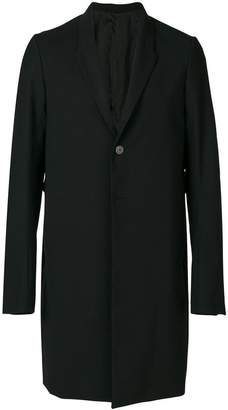 Rick Owens boxy blazer coat