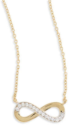 1174b66fc at The Bay · Tag Heuer FINE JEWELLERY 14k Yellow Gold Infinity Pendant  Necklace
