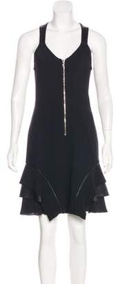 Yigal Azrouel Sleeveless Zip-Up Dress