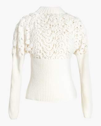 Rojas Alejandra Alonso Crochet Sweater
