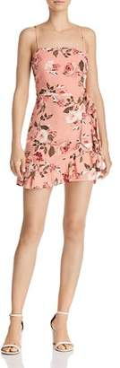 Cotton Candy Floral Mini Dress