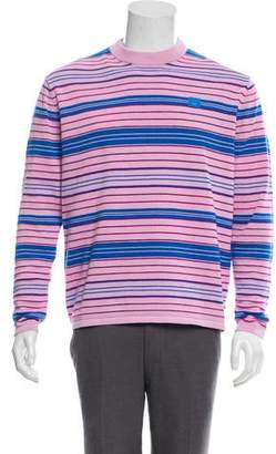 Acne Studios Striped Face Sweater