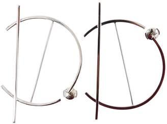 O'fee Abstraction silver earrings